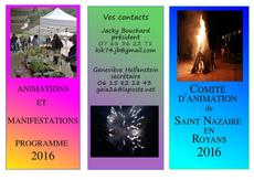 comité d'animation de saint nazaire en royans