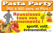 organisation Pasta Party Isere Drome