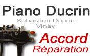 accordeur réparateur de piano à St Marcellin (isere 38 drome 26 royans vercors) Sébastien Ducrin accord reparation piano