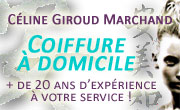 Coiffure a domicile au Pays de Saint marcellin, vinay, polienas, st verand, chevrières, ...