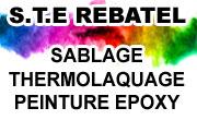 STE Rebatel ALV Dumas Sablage, Décapage, Peinture epoxy, ... Portails, Volets, Radiateurs, ... St marcellin isere vercors royans