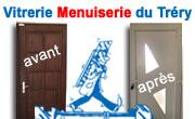 Vitrerie Menuiserie du Tréry Dépannage vitre vitrine cassée fenetres vinay st marcellin isere