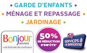 Bonjour Services à domicile : Ménage, repassage, garde d'enfant, jardinier - St Marcellin, Vinay, Chatte, Teche ...